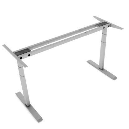 height adjustable desk frame 2 leg 3 stage