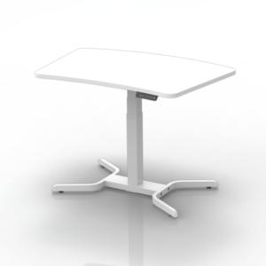 EDesk Single Leg Height Adjustable Desk (3)