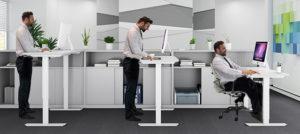 EDesk Height Adjustable Desk bg1