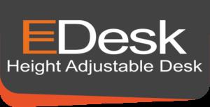 EDesk Height Adjustable Logo