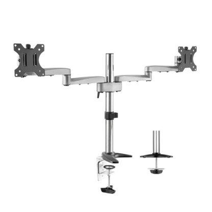 Modular Aluminium Dual Monitor Arms