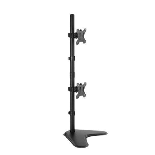Vertical Dual Monitors Arm