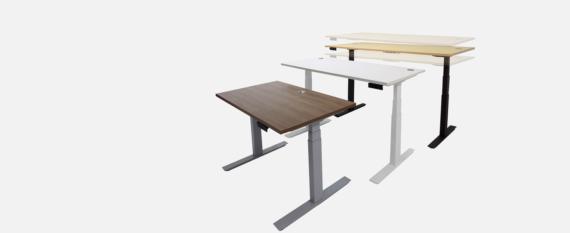 Slider_height adjustable desk